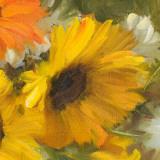 Sunflowers Square II