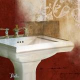 Red Bathroom & Ornaments II