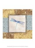 Collaged Dragonflies V