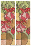 2-Up Stain Glass Floral II