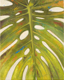 Tropical Leaf II Reproduction d'art par Patricia Quintero-Pinto