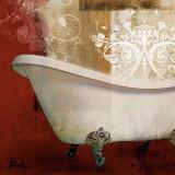 Redbathroom & Ornaments I