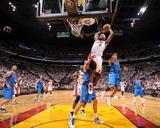 Dallas Mavericks v Miami Heat - Game Two  Miami  FL - JUNE 2: LeBron James  Tyson Chandler and Shaw