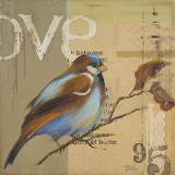 Blue Love Birds II