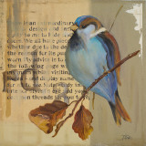 Blue Love Birds I