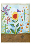 Whimsical Flower Garden II