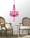 Hot Pink Classic Chandelier