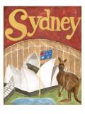 Sydney Reproduction d'art par Megan Meagher