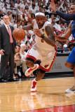 Dallas Mavericks v Miami Heat - Game Two  Miami  FL - JUNE 2: LeBron James and Shawn Marion