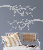 Grey Cherry Blossom Branch