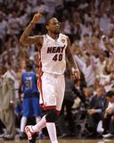 Dallas Mavericks v Miami Heat - Game Two  Miami  FL - JUNE 02: Udonis Haslem