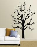 Black Floral Tree