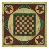 Small Antique Checkers
