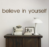 Believe In Yourself - Brown