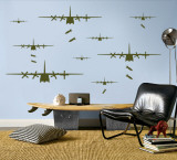 Bomber Airplanes - Army Green