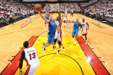 Dallas Mavericks v Miami Heat - Game Two  Miami  FL - JUNE 2: Jason Kidd and Joel Anthony