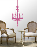 Light Pink Classic Chandelier