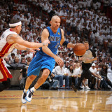 Dallas Mavericks v Miami Heat - Game Two  Miami  FL - JUNE 02: Jason Kidd and Mike Bibby