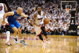 Dallas Mavericks v Miami Heat - Game Two  Miami  FL - JUNE 2: Dwyane Wade and Jason Kidd