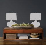 Grey Retro Lamps