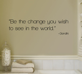 Change - Gandhi