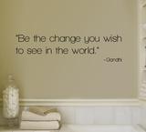Change - Gandhi