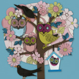 Summer Owl Tree