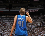 Dallas Mavericks v Miami Heat - Game Two  Miami  FL - JUNE 02: Dirk Nowitzki