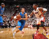 Dallas Mavericks v Miami Heat - Game Two  Miami  FL - JUNE 2: JJ Barea and Chris Bosh