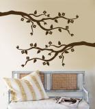Brown Cherry Blossom Branch