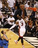 Dallas Mavericks v Miami Heat - Game Two  Miami  FL - JUNE 02: Dwyane Wade and Jose Juan Barea