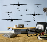 Bomber Airplanes - Black
