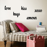 Love  Hugs  Kiss  Amour  xoxo