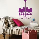 Purple Modern Chandelier