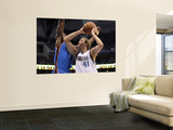 Oklahoma City Thunder v Dallas Mavericks - Game Two  Dallas  TX - MAY 19: Dirk Nowitzki and Serge I