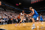 Dallas Mavericks v Miami Heat - Game One  Miami  FL - MAY 31: Dirk Nowitzki and Chris Bosh