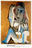 Femme Accroupie Reproduction pour collectionneurs par Pablo Picasso