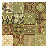 Pistachio Patchwork I