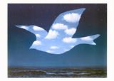 La Promesse Reproduction d'art par Rene Magritte