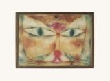 Cat and Bird Reproduction d'art par Paul Klee
