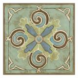 Non-Embellished Ornamental Tile V