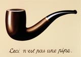 La Trahison des Images Reproduction d'art par Rene Magritte