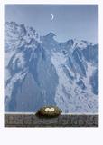 Le Domaine d'Arnheim Reproduction d'art par Rene Magritte