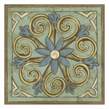 Non-Embellished Ornamental Tile III