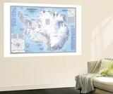 Antarctica Map 1987