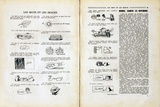 Les Mots et les Images Reproduction d'art par Rene Magritte