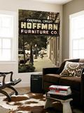 USA  Alabama  Mobile  Dauphin Street  Old Neon Sign for Hoffman Furniture