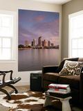 USA  Florida  Tampa  Skyline from Hillsborough Bay