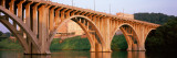Bridge Across River  Henley Street Bridge  Tennessee River  Knoxville  Knox County  Tennessee  USA