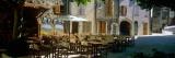Sidewalk Cafe in a Village  Claviers  Var  Provence-Alpes-Cote D'Azur  France